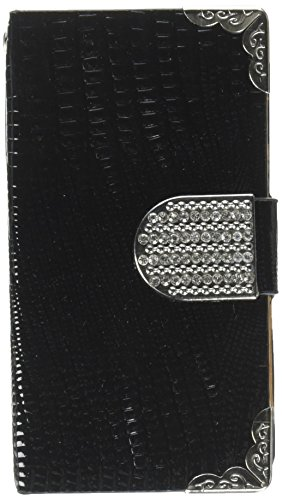 MyBat Book- Wallet with Card Slot Case for iPhone 4s/4 - Retail Packaging - Black