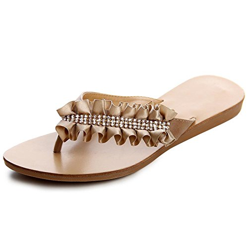 Sconosciuto Women's Fashion Sandals Marrone (Marrone chiaro) G3tA1n