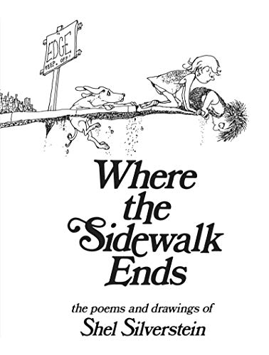 {[Shel Silverstein]} Where The Sidewalk Ends: Poems and Drawings (Hardcover)