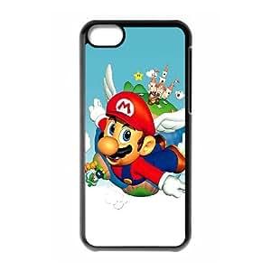 iPhone 5c Cell Phone Case Black Super Mario Bros Generic Phone Case Fashion XPDSUNTR27466