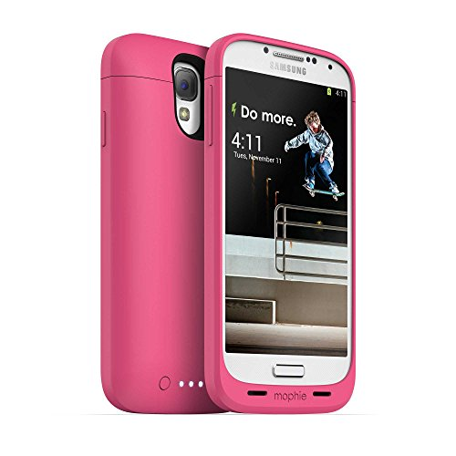 Mophie Juice Pack for Samsung Galaxy S4 - Pink (Certified Refurbished) (Juice Case Samsung S4 compare prices)