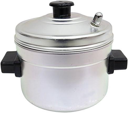 Idli Aluminium Indian Maker Stand 4 Plaques Rack Cooker Set Distraitement Kitchen Appliance