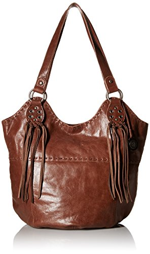 The Sak Indio Tote Bag, Teak Fringe, One Size