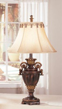 Poundex PDEX-F5204 Bobkona Collections Resin Table Lamp, Set of 2, 27' x 32' x 25', Multi