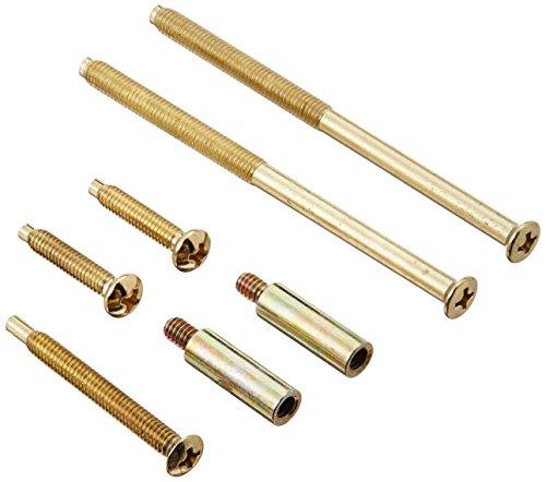 (Design House 792994 Handle Set Extension Kit, Polished Brass)