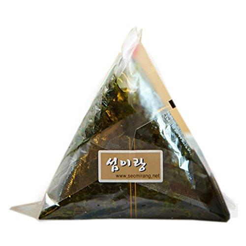Onigiri Nori Rice Ball Triangle Sushi Seaweed Wrappers Starter Kits (100 Sheets & Sticker with Mold)