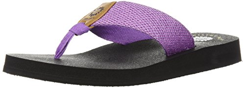 Sandal Purple Box Dax Women's Yellow 8w6TUq
