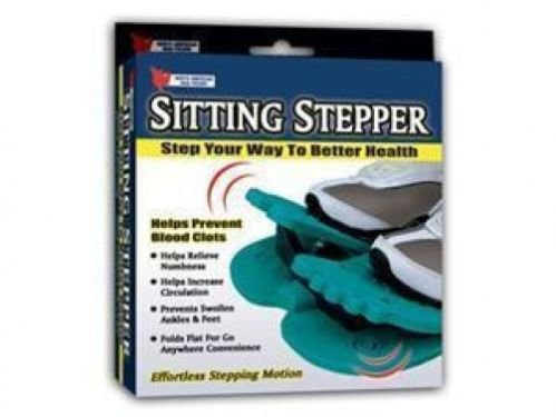 Sitting Stepper Increases Circulations Prevents Blood Clots Legs Exerciser NEW