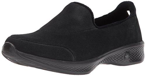 Skechers Performance Women's Go 4 Walking Shoe,Black,8 M US