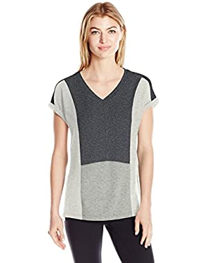 Calvin Klein Performance Women's Colorblock Pullover Tee