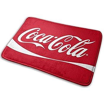 Amazon Com Hqfmevvu Coca Cola Logo Bath Mat Non Slip Bathroom Mats Bathroom Rug