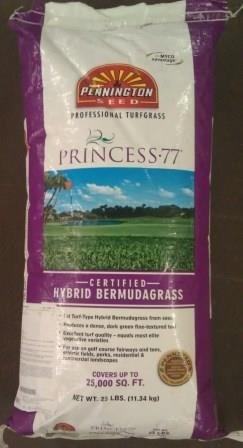 Princess 77 Bermuda Grass Seed - 5 LB