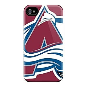DannyLCHEUNG Iphone 4/4s Durable Hard Phone Case Unique Design Attractive Colorado Avalanche Image [eSs4520Yvvk]