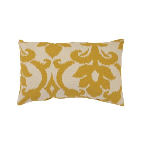Pillow Perfect Azzure Rectangular Throw Pillow, Marigold