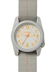 Bertucci DX3 Plus Watch Granite Gray w/ Orange - Granite Gray w/Orange Nylon