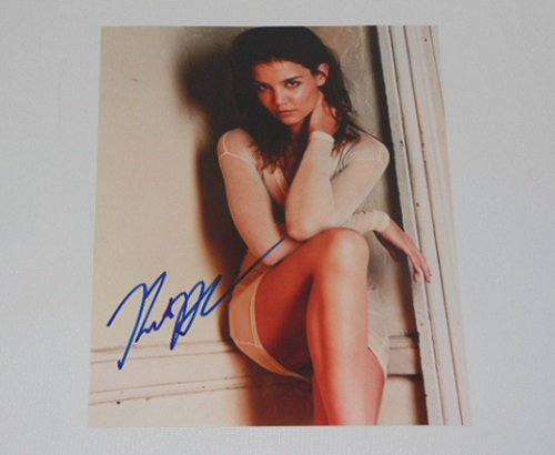 Ray Donovan Sexy Katie Holmes Hand Signed Autographed 8x10 Glossy Photo Loa