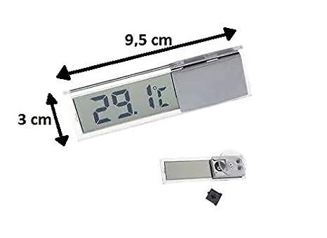 Voiture Thermometre Degre 019 Lcd Ventouse Avec De Temperature BoreCxd