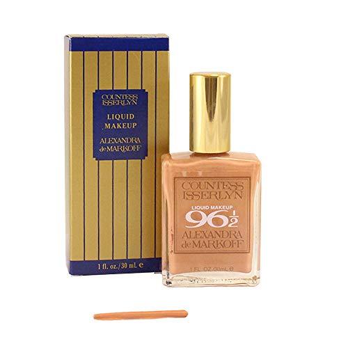 Alexandra De Markoff for Women Countess Isserlyn Liquid Makeup, 96 1/2, 1.0 Ounce