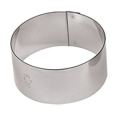 2.38'' Round Pastry Ring (Set of 6) by Paderno World Cuisine