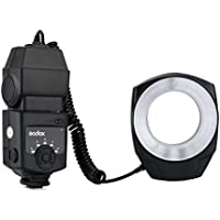 Godox ML-150 Macro Ring Flash Light GN10 with 6 Lens Adapter Rings for Canon Nikon Pentax Olympus DSLR cameras