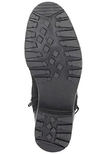 990865 Comfortabel Stiefel Damen 1 schwarz Schwarz qgHftFnw4x