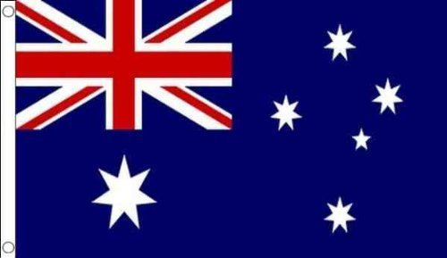 Custom Australia Australian Quality NYLON Wall Flag Banner 3'x5' Ft - Custom Australia