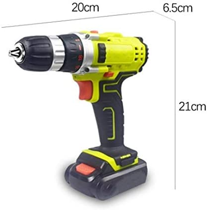 Cheniess 14.4v Electric Drill Multifunctional Rechargeable Hammer Drill Drilling for Wall Door for Home Improvement DIY Project