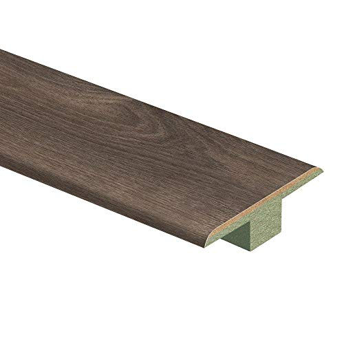 (Southern Grey Oak 7/16 in. Thick x 1-3/4 in. Wide x 72 in. Length Laminate T-Molding)