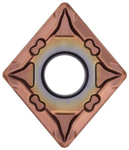 - Sandvik Coromant T-Max P Carbide Turning Insert, CNMG, 80 Degree Diamond, MF Chipbreaker, GC1115 Grade, Multi-Layer Coating, CNMG 431-MF, 1/2
