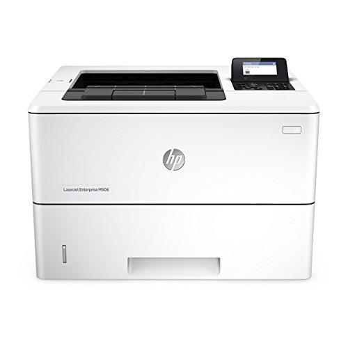 HP Laserjet Enterprise M506n Laser Printer with Built-in Ethernet (F2A68A) (Renewed) (Lights Hp 1200)