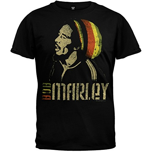 Bob Marley - Old School Soft T-Shirt