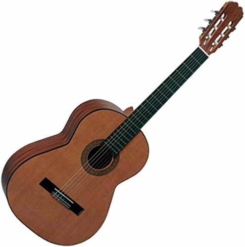 Admira Malaga tamaño completo guitarra clásica con funda: Amazon ...