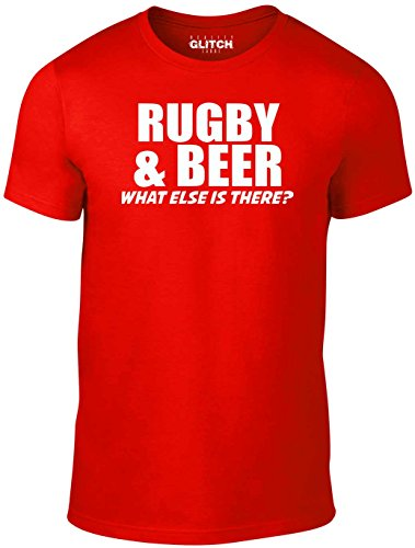 Reality Glitch Men's Rugby & Beer T-Shirt