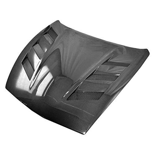 (VIS Racing (VIS-KZF-396) AMS Style Hood Carbon Fiber - Compatible for Nissan 370Z 2009-2016 (2009 2010 2011 2012 2013 2014 2015 2016 | 09 10 11 12 13 14 15 16))