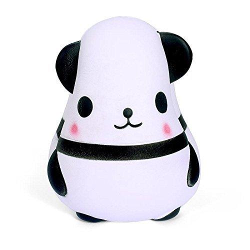 Blanco WeYingLe Squishy Panda Jumbo Juguete blandoPerfumado con Crema Juguete para ni/ños y Adultos Bonito Juguete antiestr/és Panda Grande de 6 Pulgadas Blanco