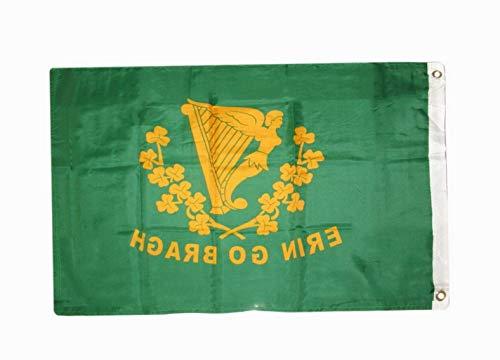 - Hebel Erin Go Bragh Flag Ireland Forever 2 x 3 Foot Irish Banner 2x3 Erin Go Braugh | Model FLG - 1546