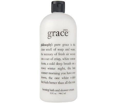 PHILOSOPHY Pure Grace Foaming Bath and Shower Cream ~ 32 oz