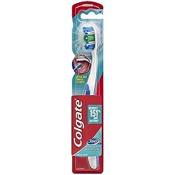 Amazon.com: Colgate 360 Cepillo de dientes con lengua y la ...