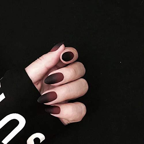 Nail Patch ASDGH Frote Las uñas. Las uñas Falsas de Punta ...