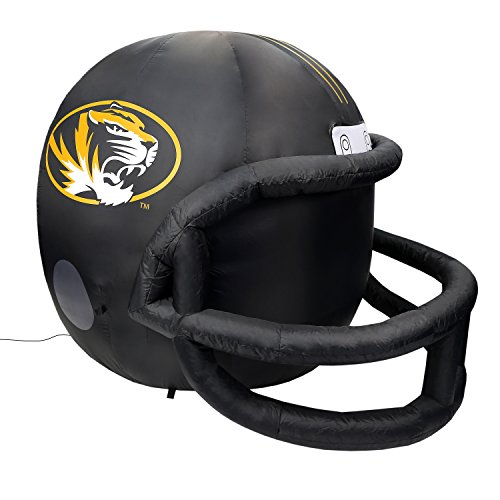 Fabrique Innovations NCAA  Inflatable Lawn Helmet, Missouri Tigers