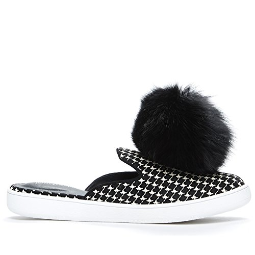 Jeffrey Campbell Claes Pom, Pom-pom Sneaker Mule