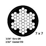 Derrun Vinyl Coated Stainless Steel 304 Black