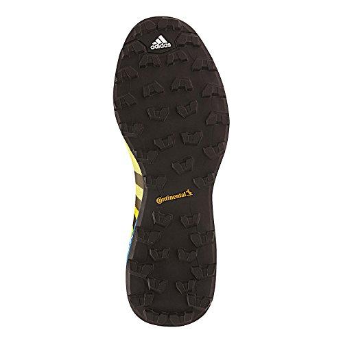 zapatos para caminar al aire libre de los hombres de adidas Terrex Agravic núcleo gris oscuro / negro / gris de alimentación rojo / Negro - AF6134 Yellow