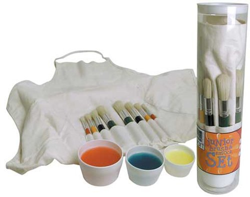 Art Alternatives Junior Brush And Smock Set
