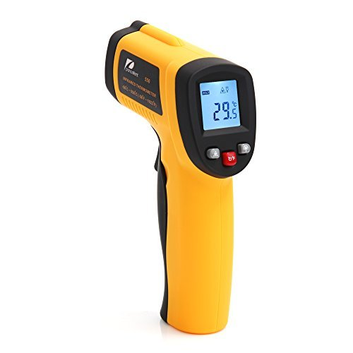 Infrared Thermometer -58 to 1022 Degree F Pancellent 550 Non-contact Digital Laser Temperature Gun -50 to 550 Degree C (FDA, FCC, CE, ROHS Approved)