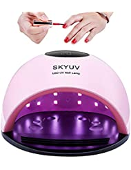 UV Nail Lamp, 80W UV Led Nail Lamp, Nail Dryer Light Curing Lamp With