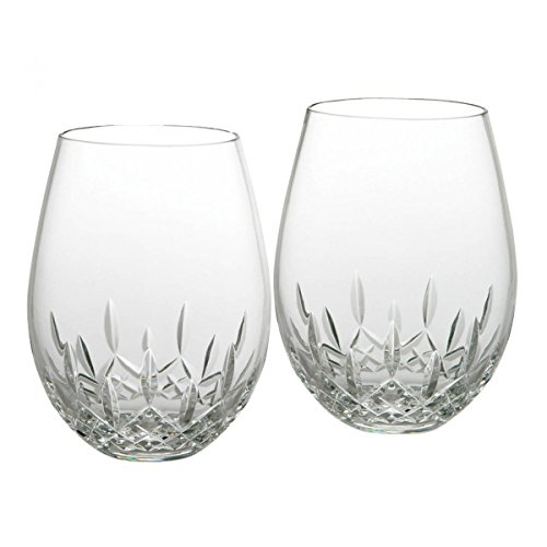 Waterford Lismore Nouveau Stemless Deep Red Wine Pair (136-879) ()