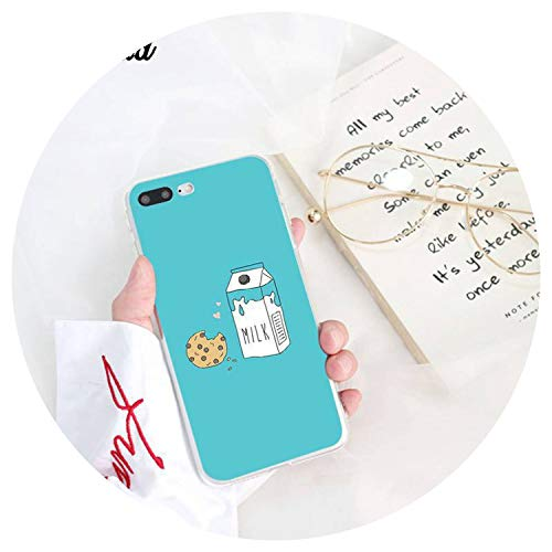 - Funny Cute Cartoon Food Pearl Milk Tea Pudding Strawberry Cake Phone Cover for iPhone8 7 6 6 Plus X XS MAX 5 5S SE XR 10,A13,for iPhone Xs MAX