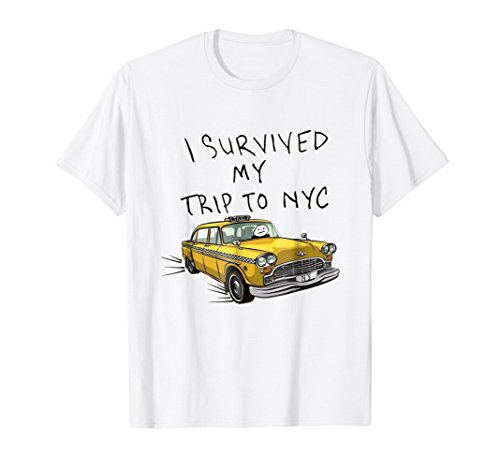 I survived my trip to NYC tshirt from I survived my trip to NYC T-Shirt