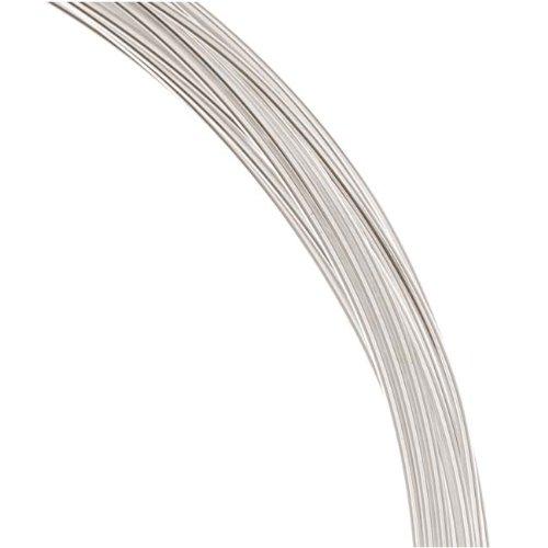 1 Oz. (19 Ft.) 99.9% Fine Silver Wire 20 Gauge Round Dead Soft